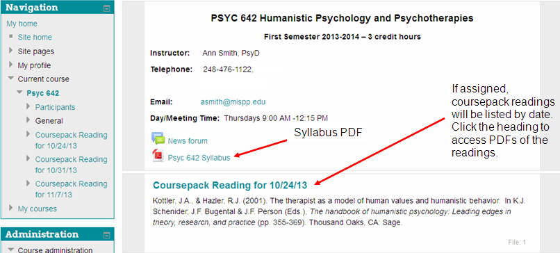 Psyc 642 with notes Moodle Resources