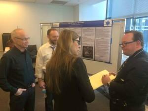 Robert with Dr. Erik Craig and Dr. Heather LaFace