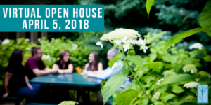 Spring VIRTUAL Open House 2018