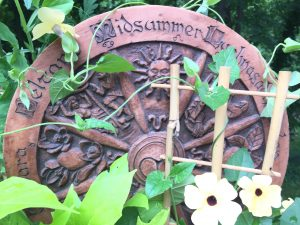 Photo of Pagan Wheel of the Year with Flowers