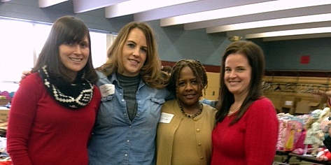 MSP volunteers at the HAVEN event (from left): Candi Wilson, Heather Rigby, Dondi Browner, Amanda Ming. Not pictured: Evisa Cuko, Patti Gallino, and Marjie Scott.