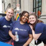 MSP students at Motor City Pride.
